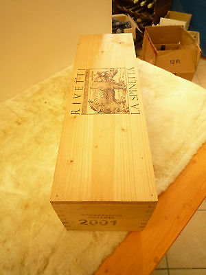 1 MAGNUM 2001 La Spinetta Barbaresco Gallina,Rivetti  CON BOX LEGNO