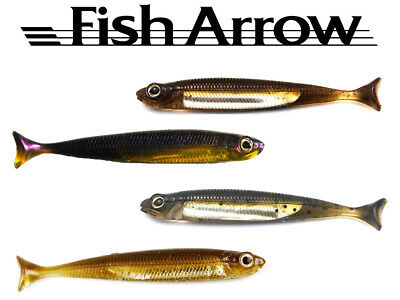 Fish Arrow Flash J Huddle 3 - Gummifische - 7 stk. 7,5 cm - Top Barsch-Köder