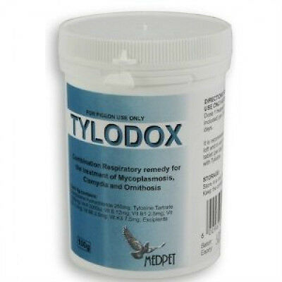 Pigeon Product - Tylodox by Medpet for Racing Pigeons