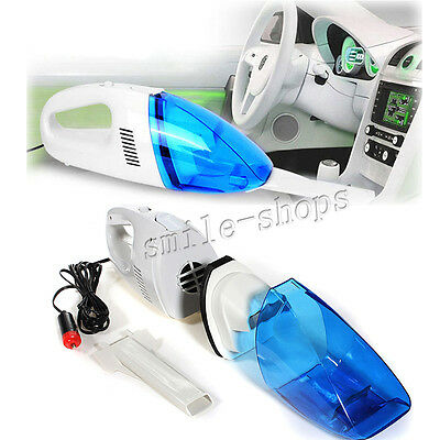 Wet and Dry Car Vacuum Cleaner Handheld Dustbuster Vehicle Vac 12V Portable