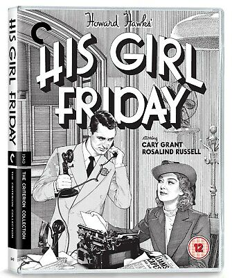 His Girl Friday - The Criterion Collection (Restored) [Blu-ray]