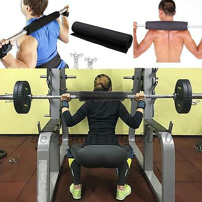 Sports Barbell Pad Shoulder Protector Weight Lifting Exercise Nylon Sponge