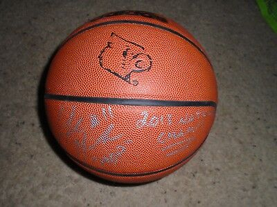 Louisville Cardinals Game Used Adidas Basketball Signed by Luke Hancock