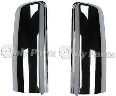 Left Right Chrome Door Mirror Cover Pair for Freightliner Cascadia 08-16
