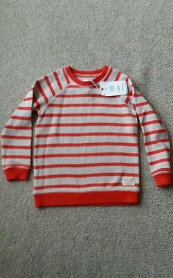 New with tags boys size 5 Country Road cotton knit jumper striped RRP $44.95.