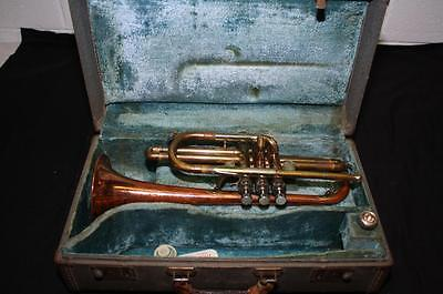 Conn Coprion Director Cornet, Bach 7C Mouthpiece, Original Case