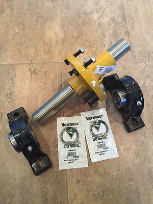 New Cutter Wheel Shaft & Bearings For Vermeer Sc252 222 Stump Grinder 116523001