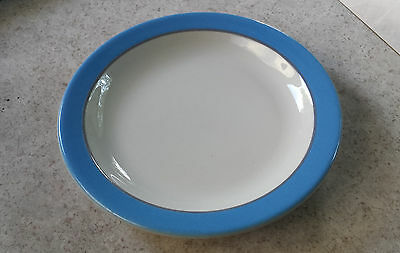 "Amtrak National pattern 6 1/2"" side plate by Homer Laughlin"