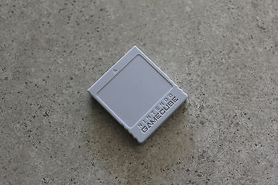 Nintendo GameCube GC Genuine Memory Card 59 (DOL-008) Grey