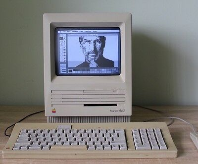 Apple Macintosh SE 1mb ram