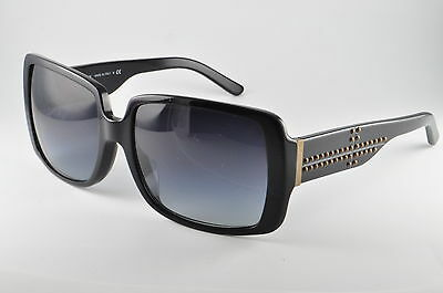 Burberry BE 4095A 30018G Shiny Black Womens Sunglasses