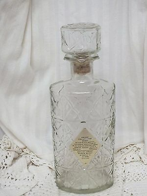* Collectable Kentucky Straight Bourbon Whiskey Decanter/bottle
