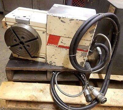 "SMW CNC MILL MILLING 10"" ROTARY 4th AXIS INDEXER INDEXING 22 & 17 PIN MORI MB"