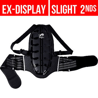 Furygan Motorbike CE Back Protector L Black Motorcycle Armour Harness Protection