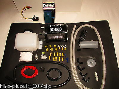 HHO Kit Universal DC3000 Kit + MAF Enhancer + CCPWM30A For engines 2.4-4.2 Litre