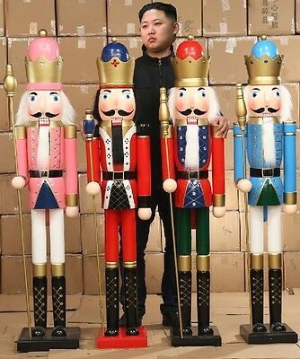Nutcracker Drummer Soldier Statue Large Tall Big Outdoor Christmas Decoration