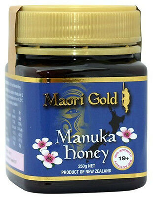 Maori Gold Manuka Honey Active 19+ - 250g