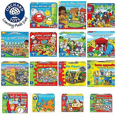 Orchard Toys Educational Games for Children - Huge Range - Free P&P