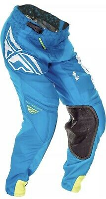 """FLY RACING Fly-Lite """"Hydrogen"""" Pant Blue Sz 28S NWT!!!"""