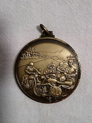Rare Swiss Motorcycle Event Medallion by F.A.M.