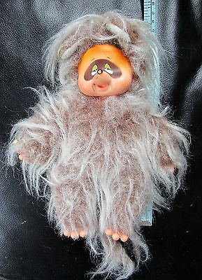 Vintage Raccoon Doll - Rubber Face (May Be A Sekiguchi  Doll)
