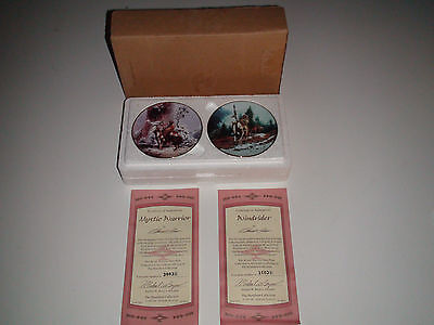 Hamilton Mystic Warrior Mini Plate MYSTIC WARRIOR and WINDRIDER