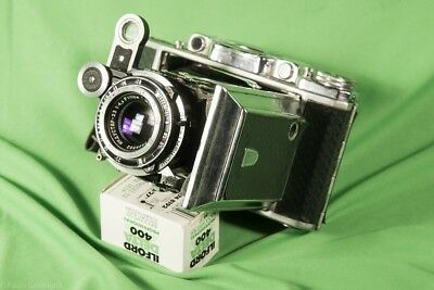 Fotocamera MOSKWA-2, ZEISS Super Ikonta clone, 120 film, VERY GOOD CONDITIONS