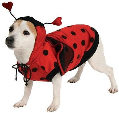 Ladybug Animal Insect Cute Fancy Dress Up Halloween Pet Dog Cat Costume