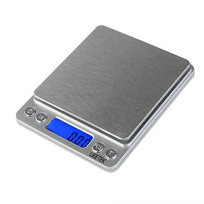500g/0.01g Digital Pro Pocket Scale Kitchen Cooking Food Weighing Scale