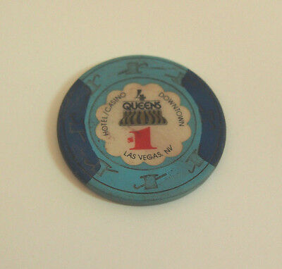 $1 Four Queens Casino Chip Las Vegas Nevada Poker Chip Gambling Token