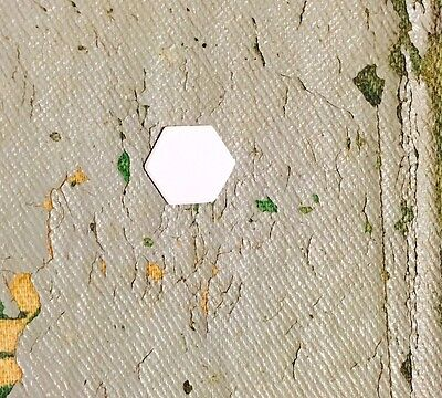 """ALL QUILTY - 5000 Shapes 1/4"""" Hexagons English Paper Piecing Quilt Templates"""