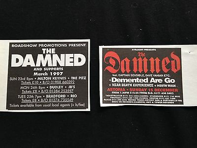 The Damned # Various Original Clippings Pack # Ref 17