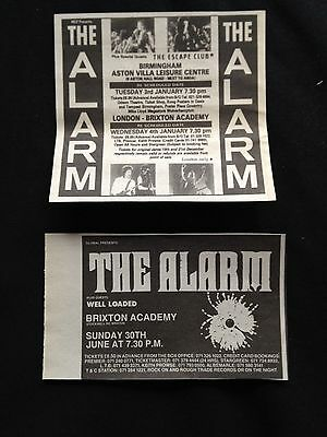 The Alarm # Various Original Clippings Pack # Ref 19