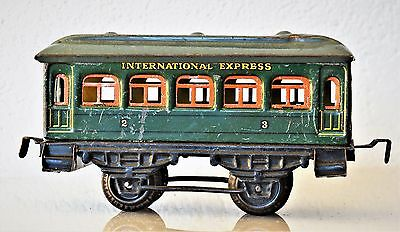Kraus Fandor | 1213 | Personenwagen 'International Express | Spur 0 Gauge | rare