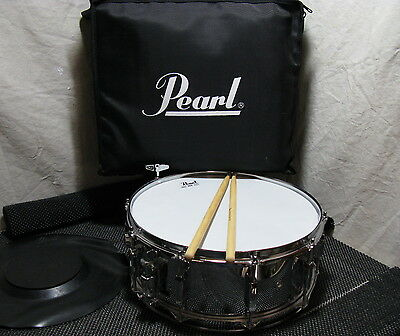 Pearl Student Snare Kit - Backpack, Practice Pad, Pearl 5H Sticks, Key EXCELLENT