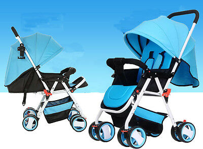New Baby Umbrella Stroller Infant Travel System Pram Compact Pushchair Buggy