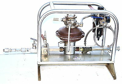 Sprague S216HL60 60:1 Pneumatic Hydrostatic Test Pump Hydrauilic Boost 6300psi