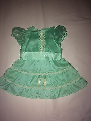 American Girl Doll Emily's Recital Dress, Barrettes Hair Clips Molly