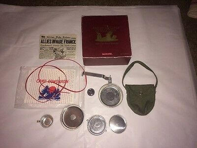 Retired American Girl / Pleasant Co. MOLLY Camp Equipment set w/Box