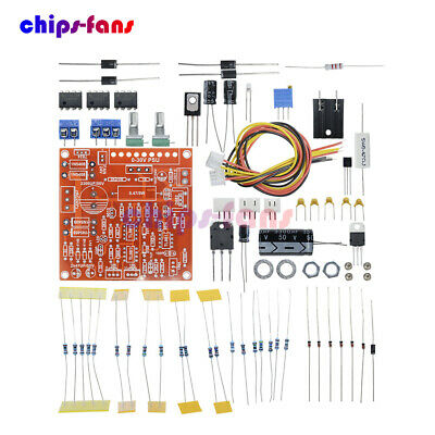 0-30V 2mA-3A Adjustable DC Regulated Power Supply DIY Kit Short w/ Protection UK