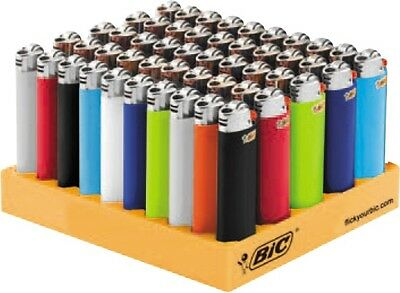 NEW 50 pack of Genuine BIC Big Large Maxi Cigarette Cigar Tobacco Lighter J26