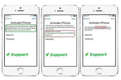 iCloud Apple ID Removal service iPhone SE 7 Plus 6S Plus 6S 6+ 6 Worldwide SLOW