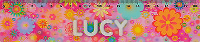 *PORTA CRAFT* 3D Personalised Rulers 20cm Lucy