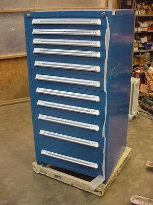 New Vidmar Cabinet 11 Drawer with Dividers and keyed locking