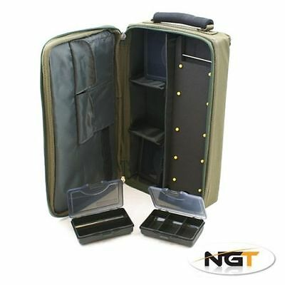 NGT Complete Carp Rig System Multi Compartment Coarse Carp Fishing Tackle