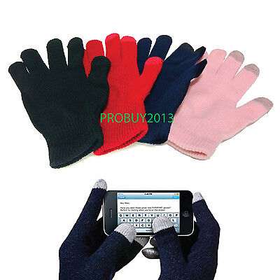 Unisex Touch Screen Texting Knit Glove Capacitve Screen TouchWinter Gloves