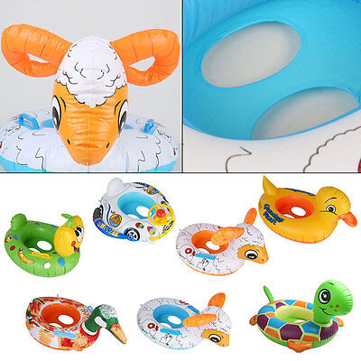 Inflatable Baby Kids Float Seat Boat Tube Ring Car Swimming Pool 3 Type 1-2Years