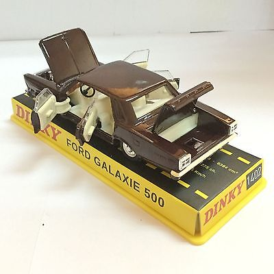 DINKY 1402 FORD GALAXIE 500 BLACK 1:43 scale CAR MODEL FOR  BEST Christmas gift