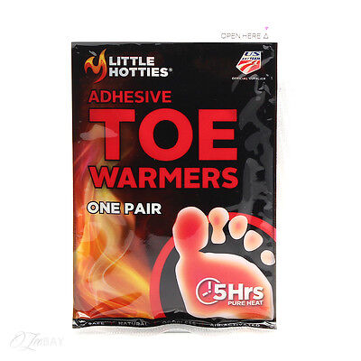 New Little Hotties Toe Warmers One Pair