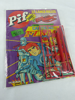 Pif 636 - Captain Future /Capitaine Flam sealed in Baggie - NOS - YPS France